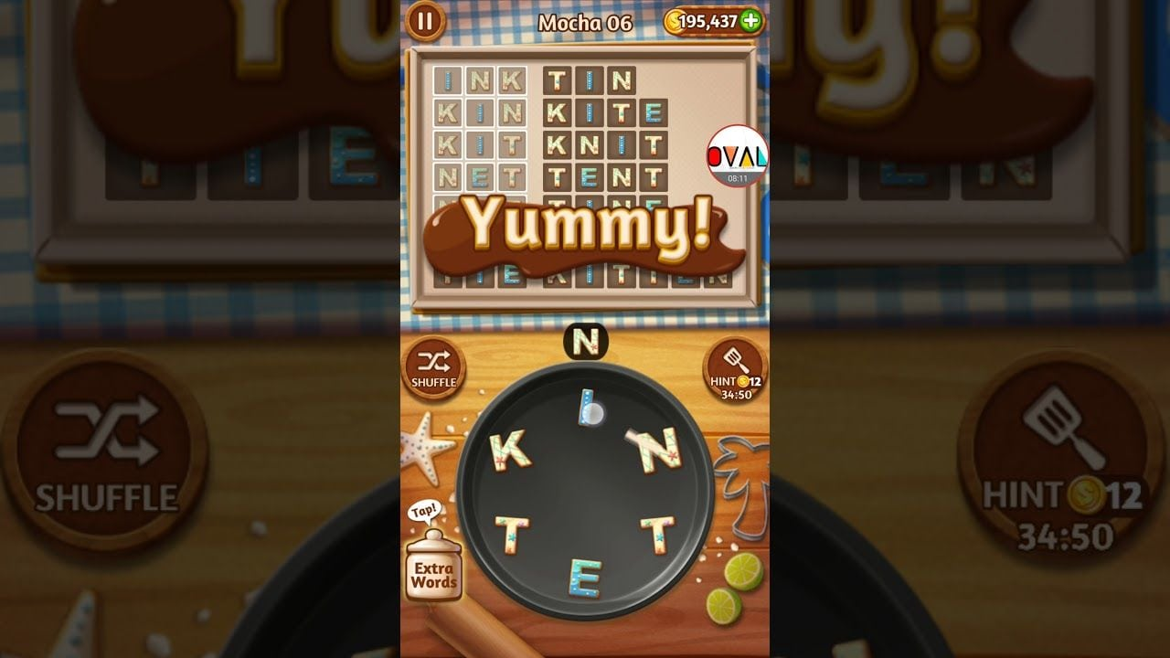 Word Cookies Mocha Level 1 To 20 Game Plays Walkthrough Tips  Oval