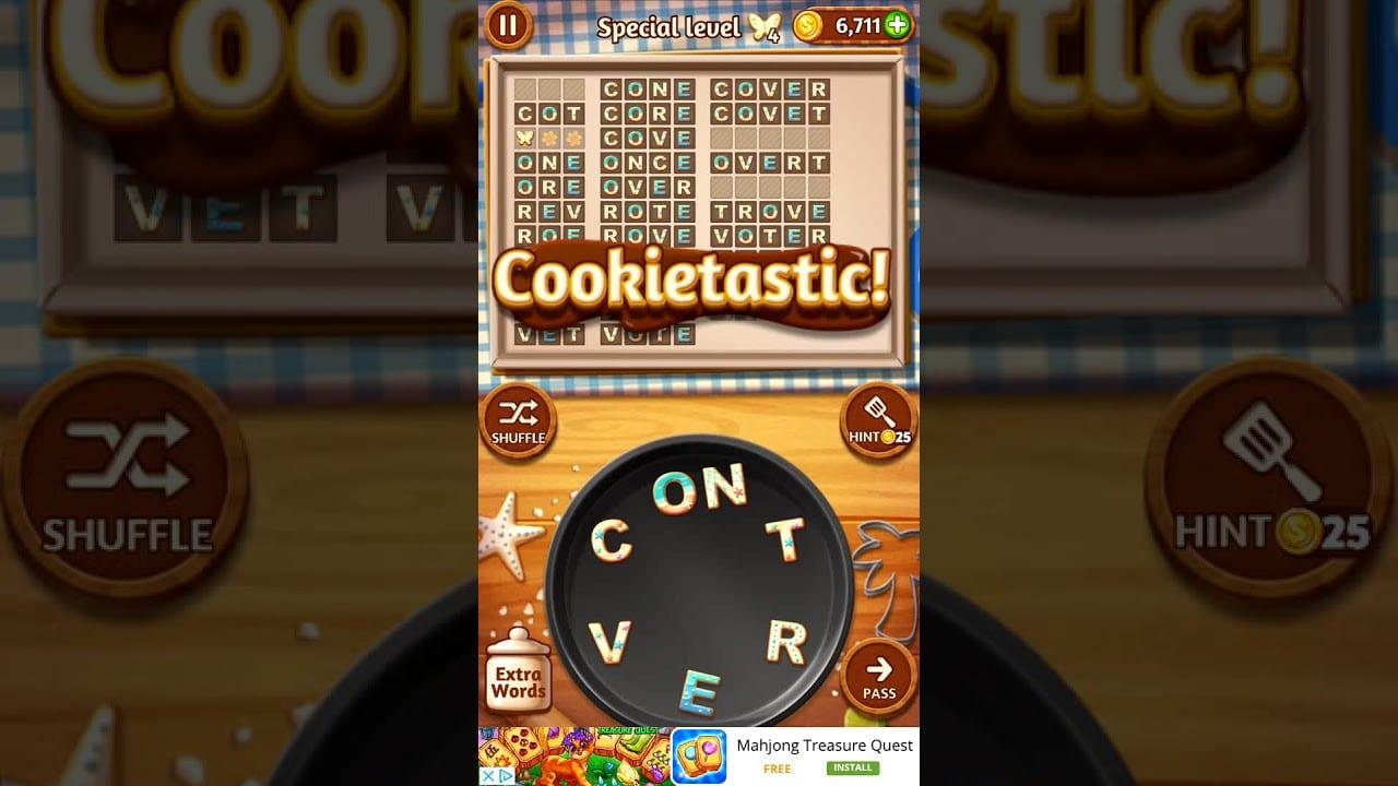 Word Cookies Papaya 5 Special