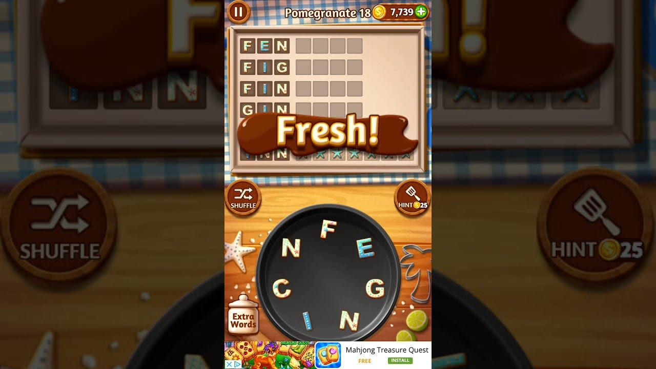 Word Cookies Pomegranate 18