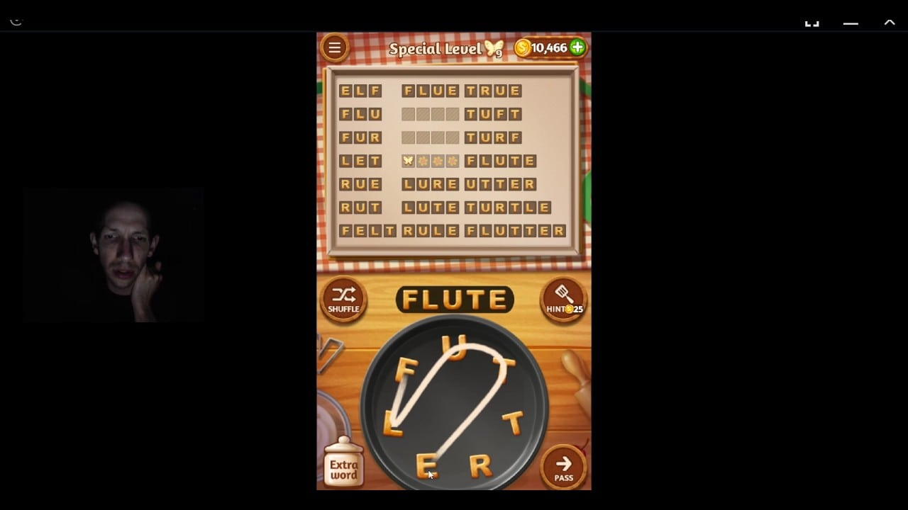 Word Cookies, Star Chef, 1st Pomegranate Special Level Solved