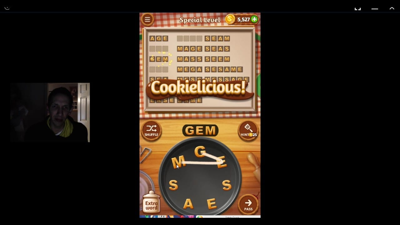 Word Cookies, Star Chef, Pomegranate Special Level