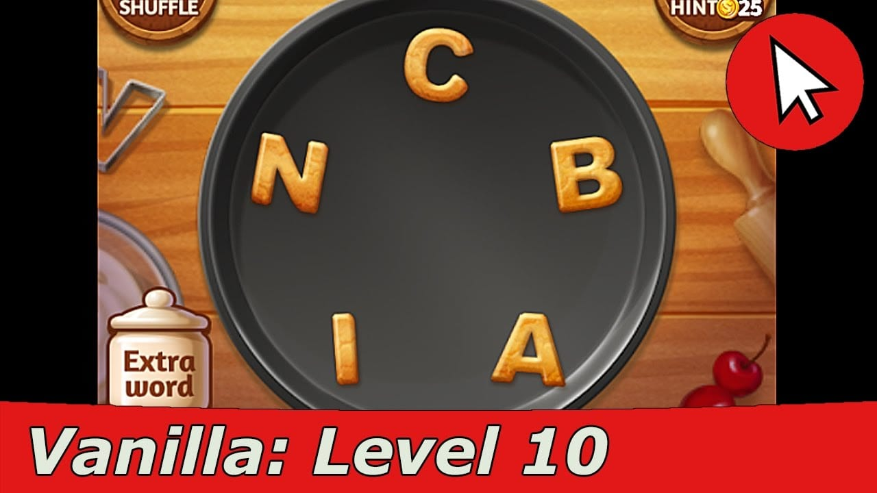 Word Cookies Vanilla 10 Answers Guide