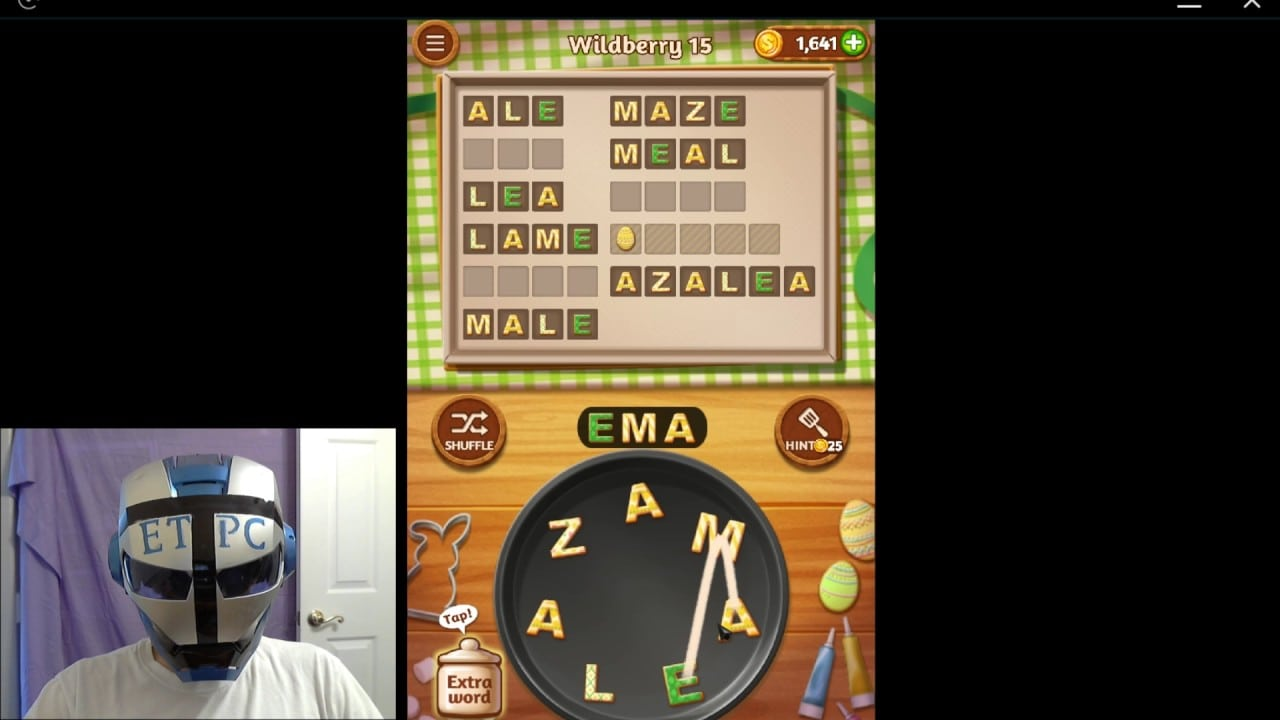 Word Cookies Wildberry 15 Solved