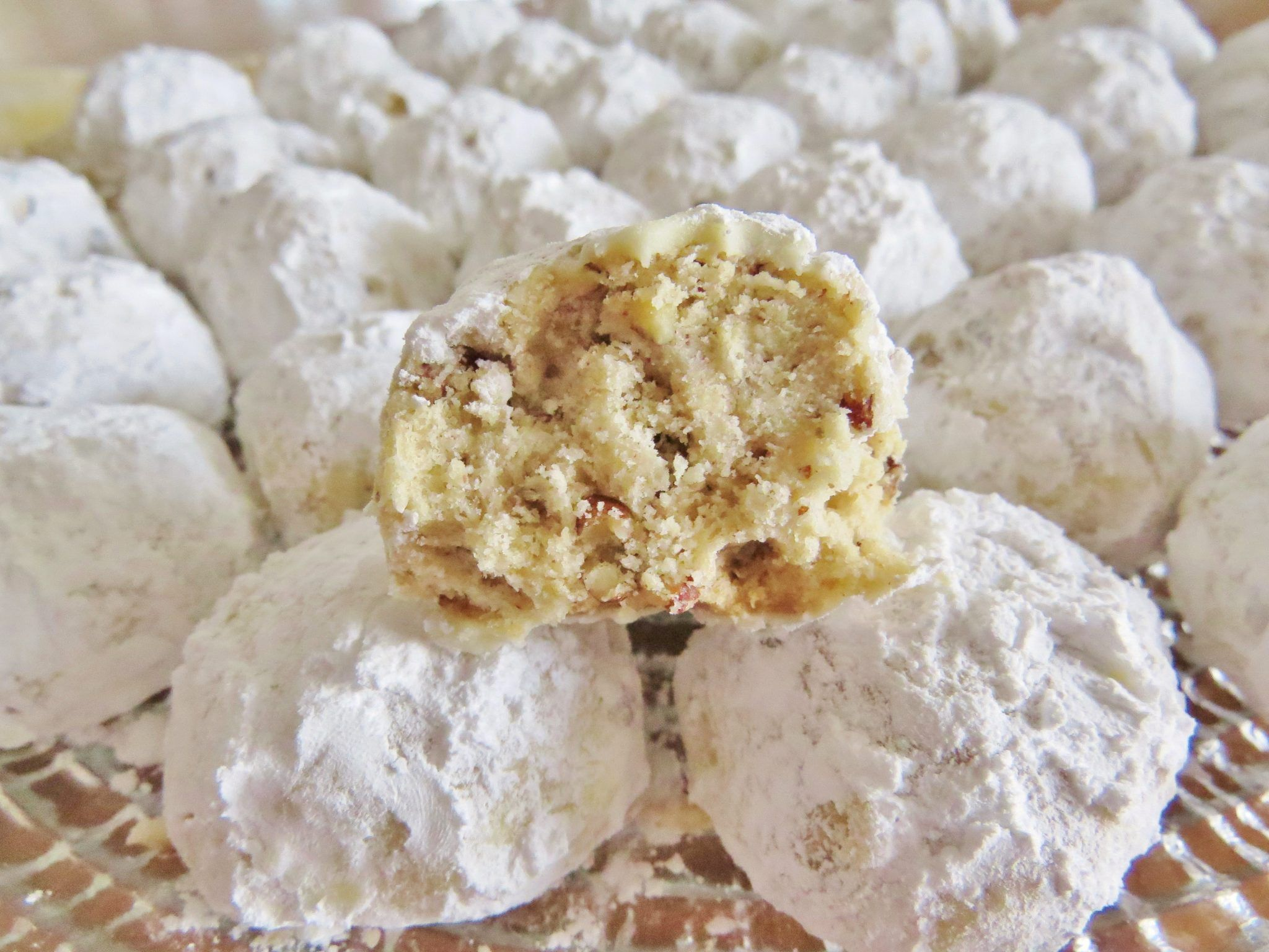 Russian Wedding Cookies