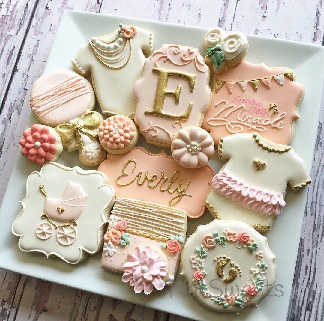 Baby Girl Cookies …