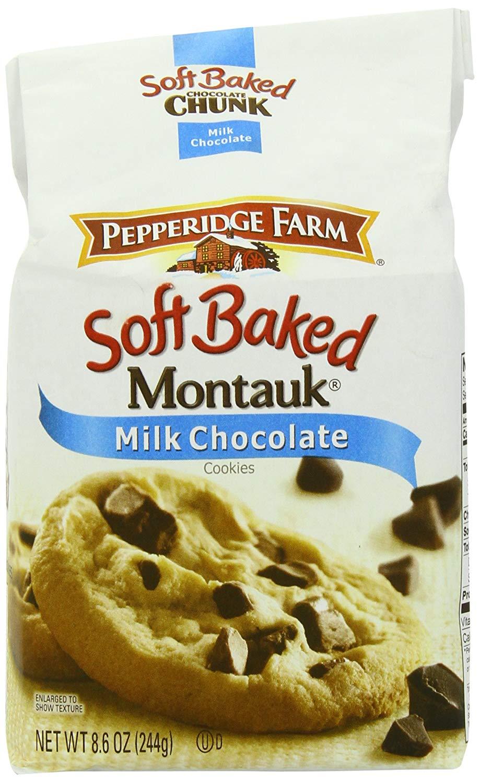 Amazon Com  Pepperidge Farm Soft Baked Cookies, Montauk Milk