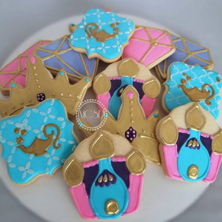 Shimmer & Shine Sugar Cookies