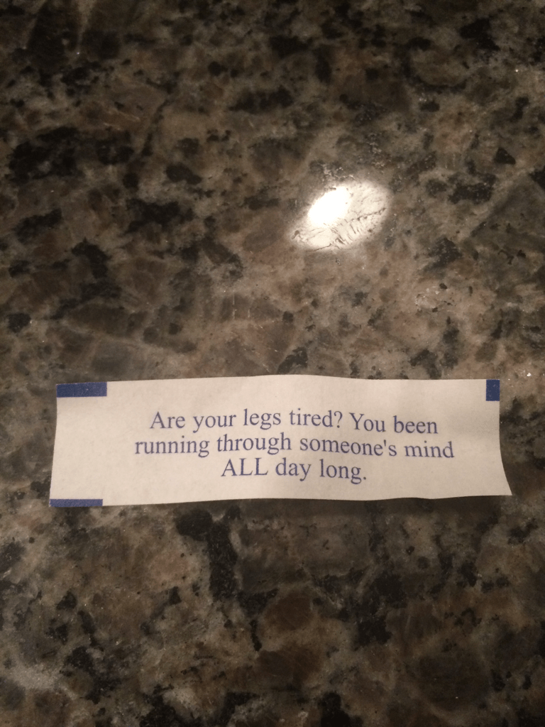 This Fortune Cookie Fortune Is More Of A Pickup Line
