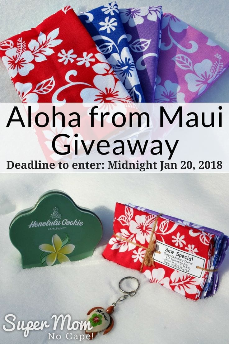 Aloha From Maui Giveaway