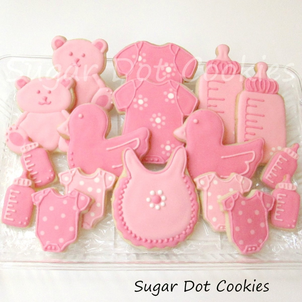 Sugar Dot Cookies  New Baby Sugar Cookies With Royal Icing