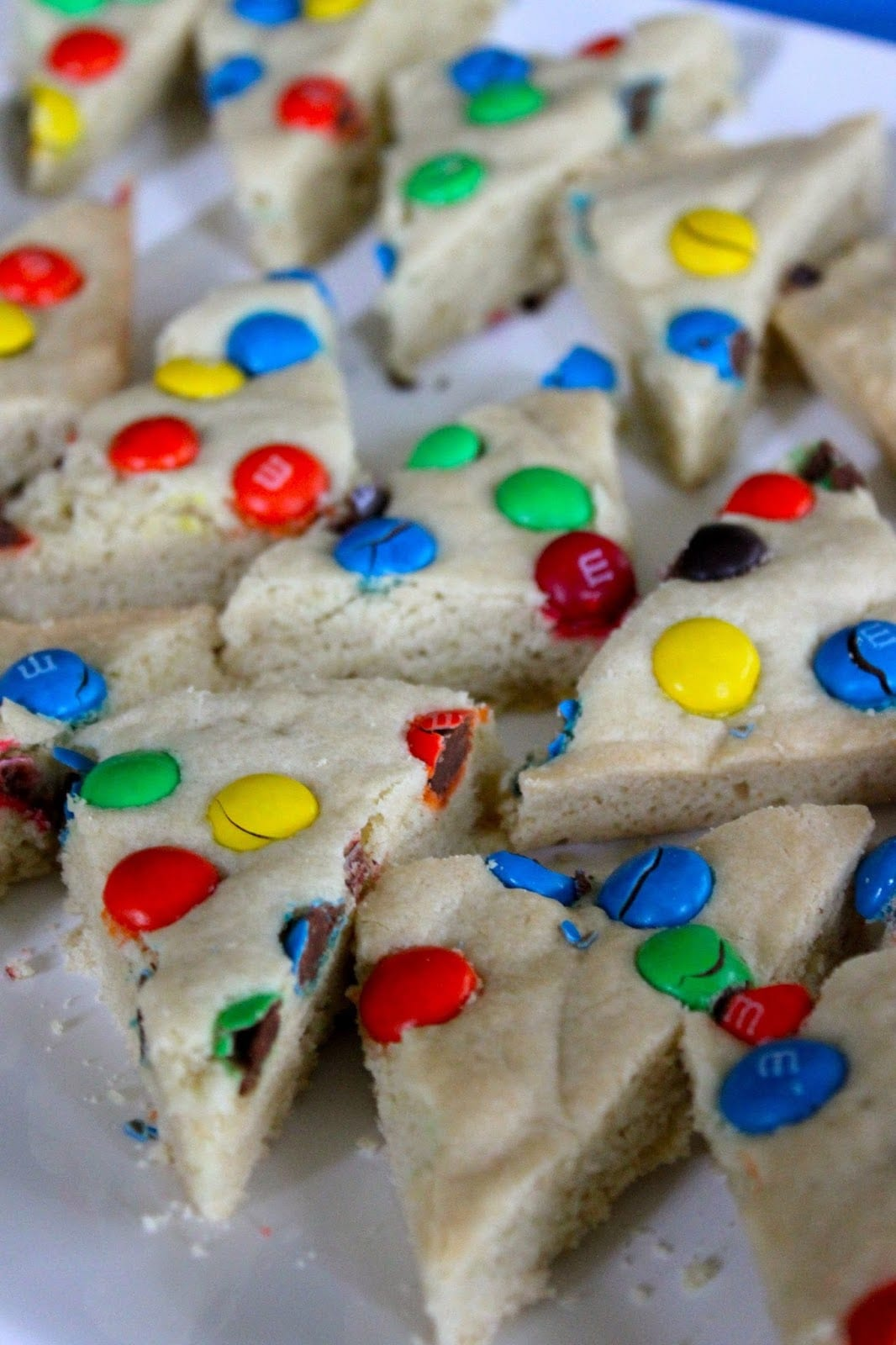 Baked Perfection  M&m Sugar Cookie Bars