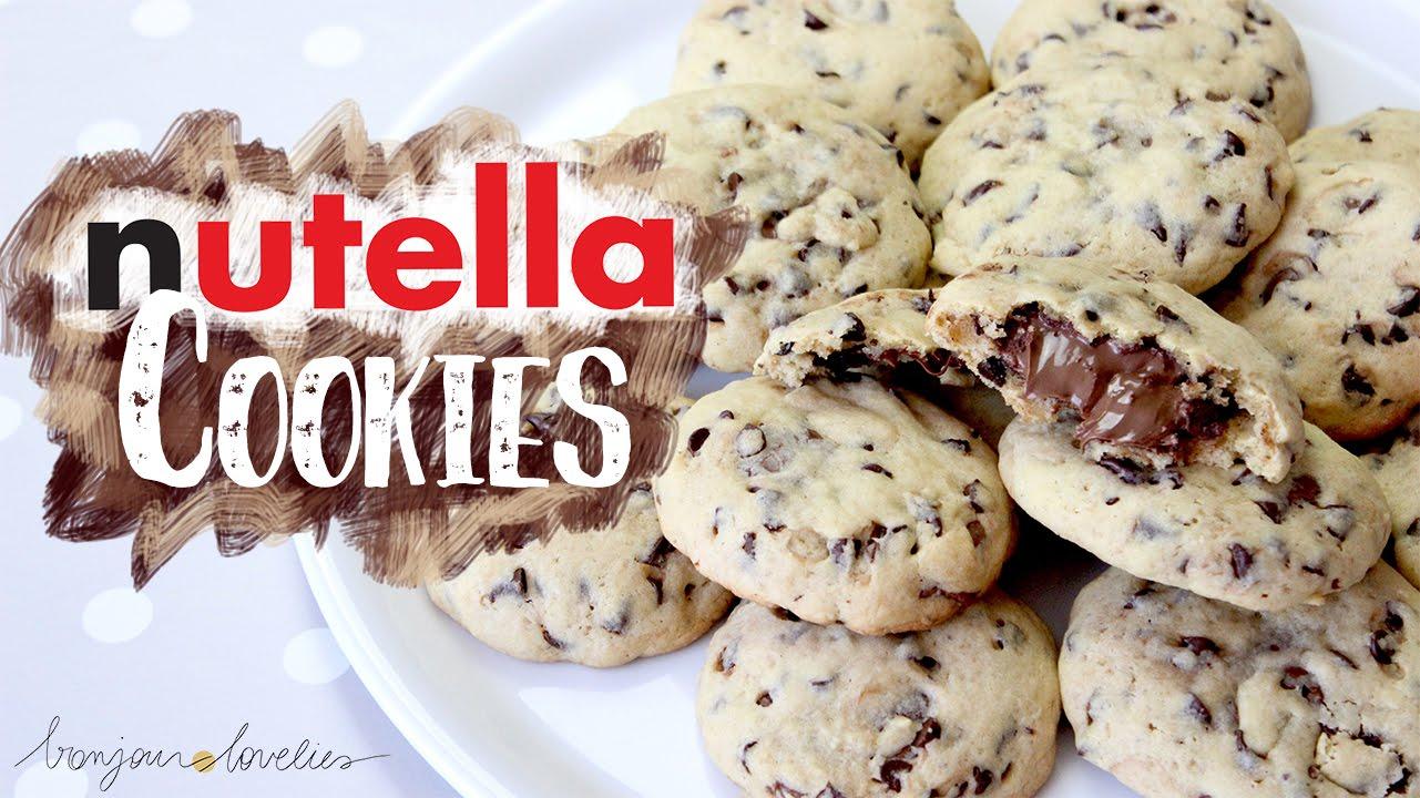 Best Nutella Chocolate Chip Cookies Recipe Ever ∆