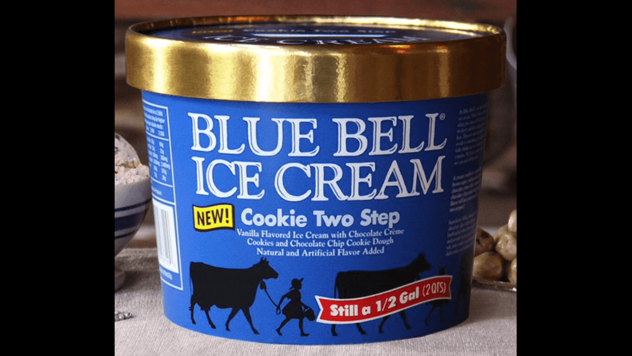 Blue Bell Introduces New Flavor 'cookie Two