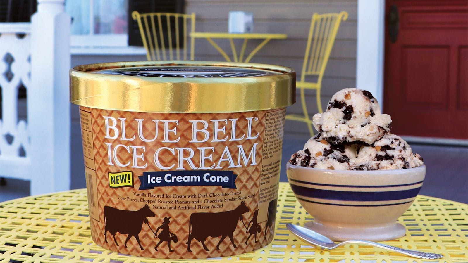 Blue Bell Ice Cream's New Flavor, And More A M  Intel