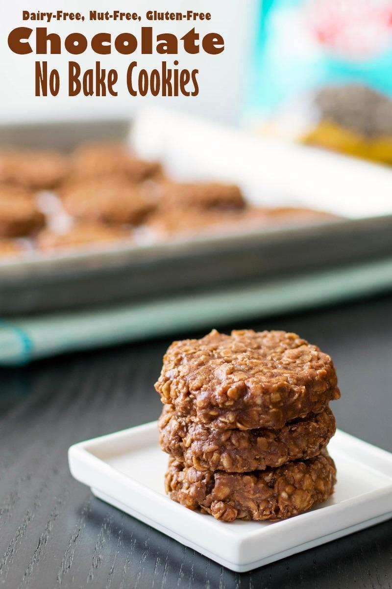 Chocolate No Bake Cookies Recipe (dairy