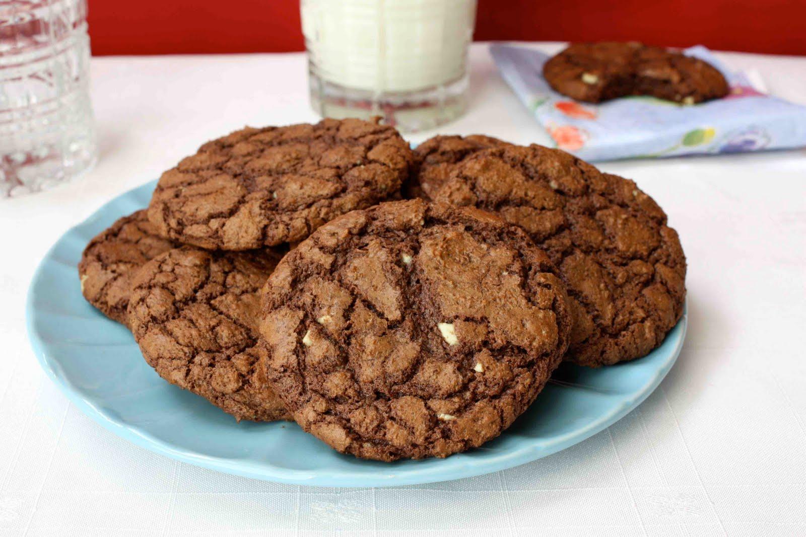 Triple Chocolate Mint Cookie Recipe