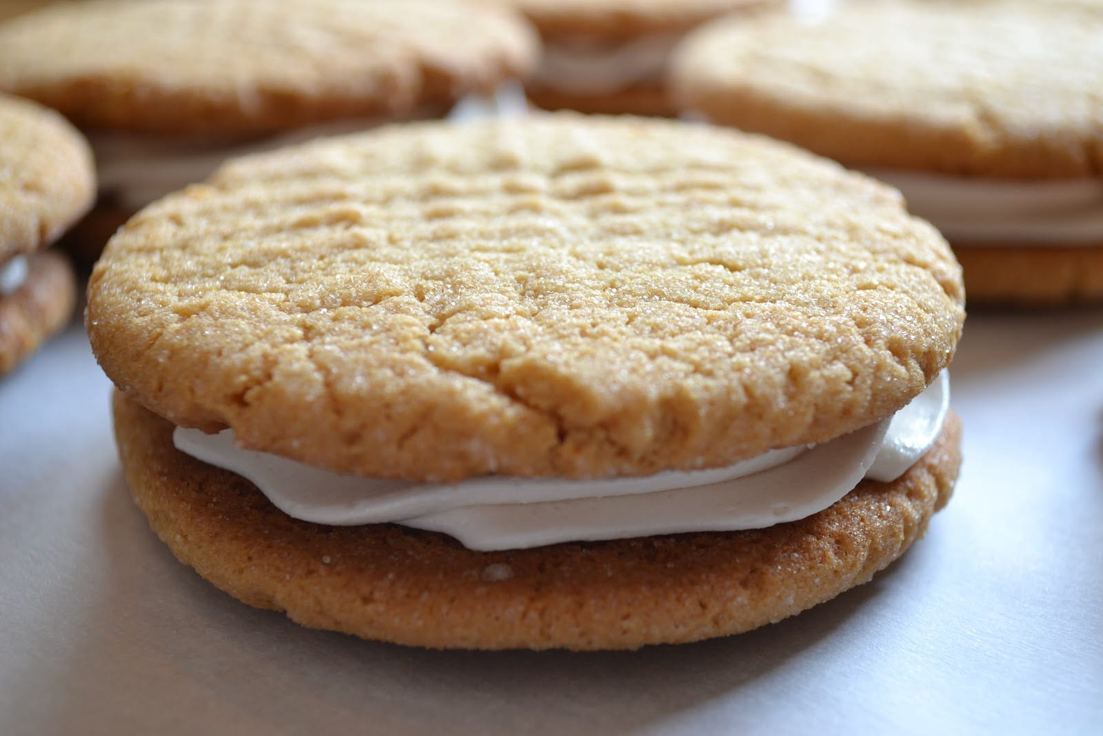 Closet Crafter  Best Ever Peanut Butter Cookies Whoopie Pies