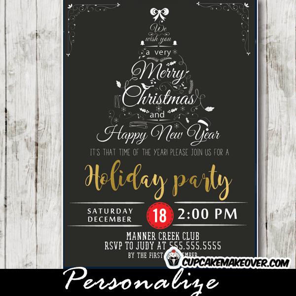 Company Holiday Invitations