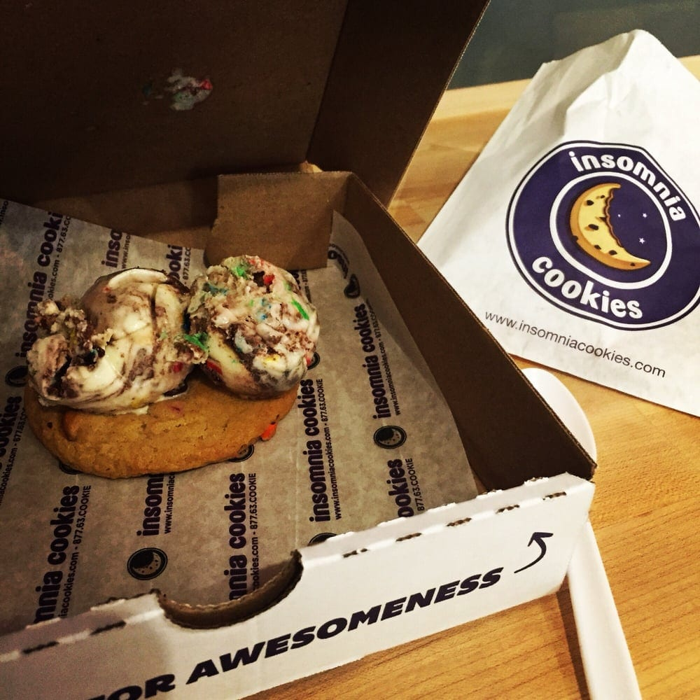 Cookie A La Mode  From Insomnia Cookies