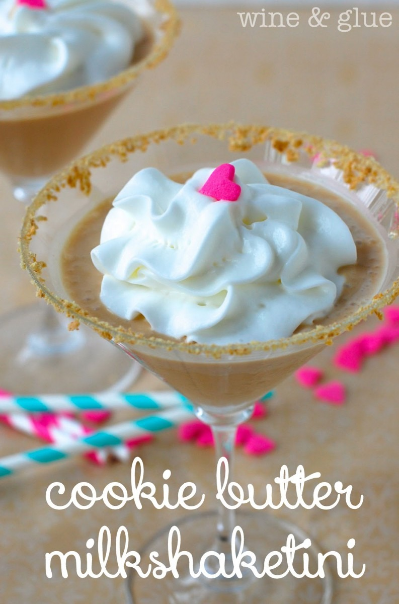Cookie Butter Milkshake{tini} {cookie Butter In Cocktail And