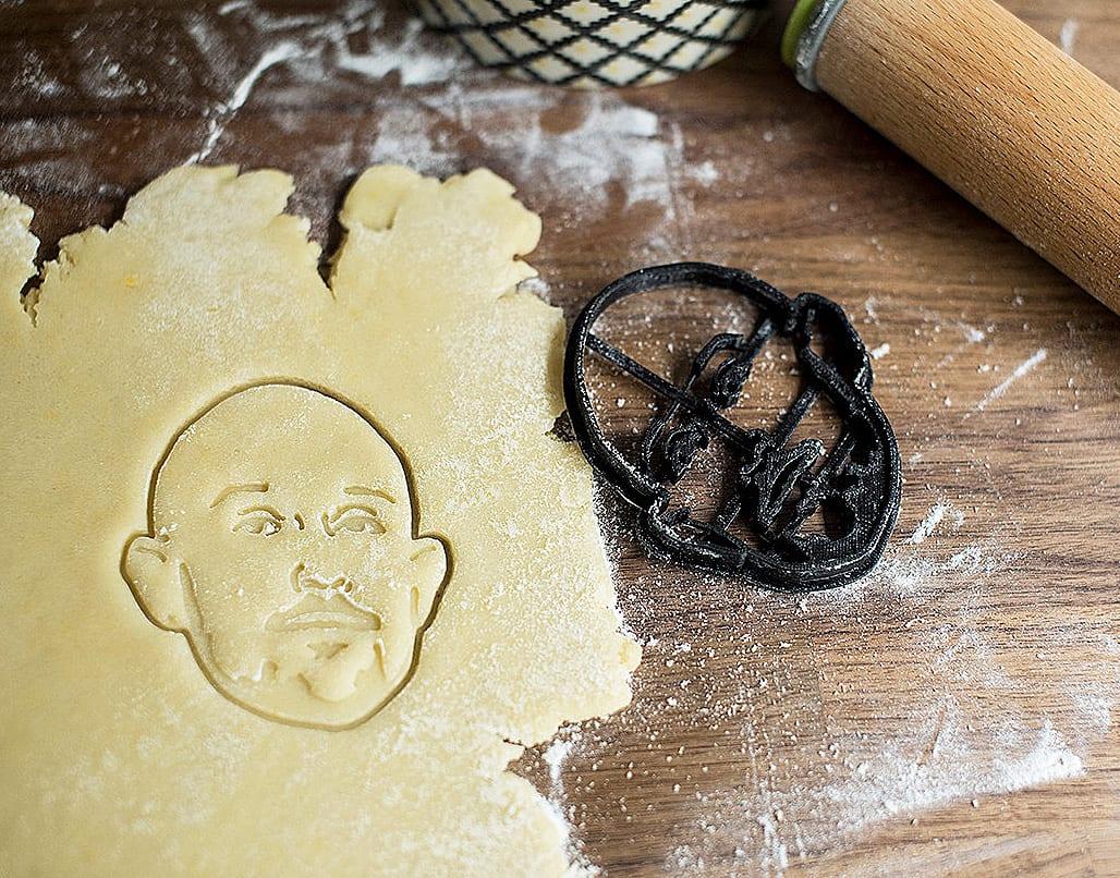 Copypastry Your Portrait Custom Cookie Cutter