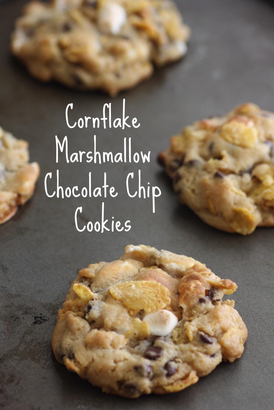 Cornflake Marshmallow Chocolate Chip Cookie Recipe