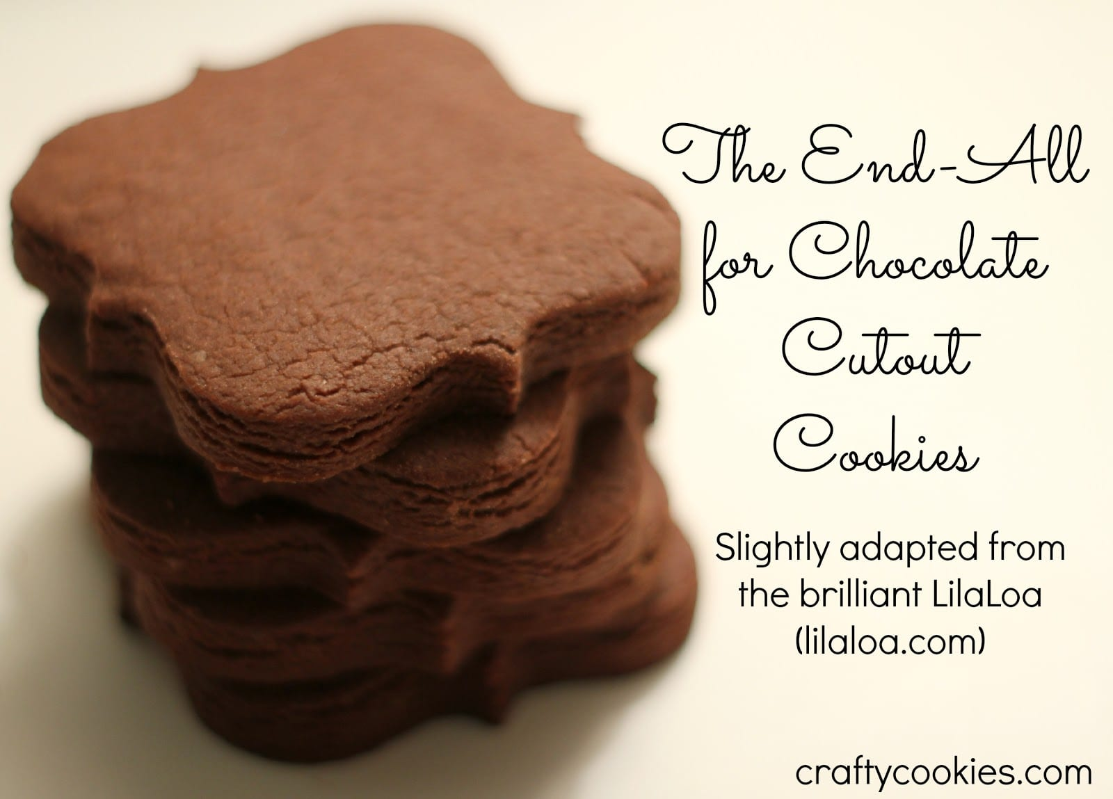 Crafty Cookies  Lilaloa's The End