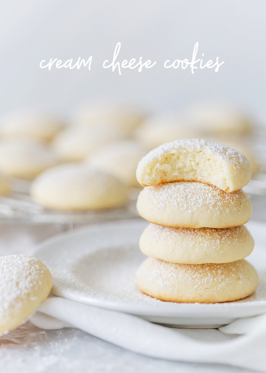 Cream Cheese Cookies (pillow Soft Cookies)