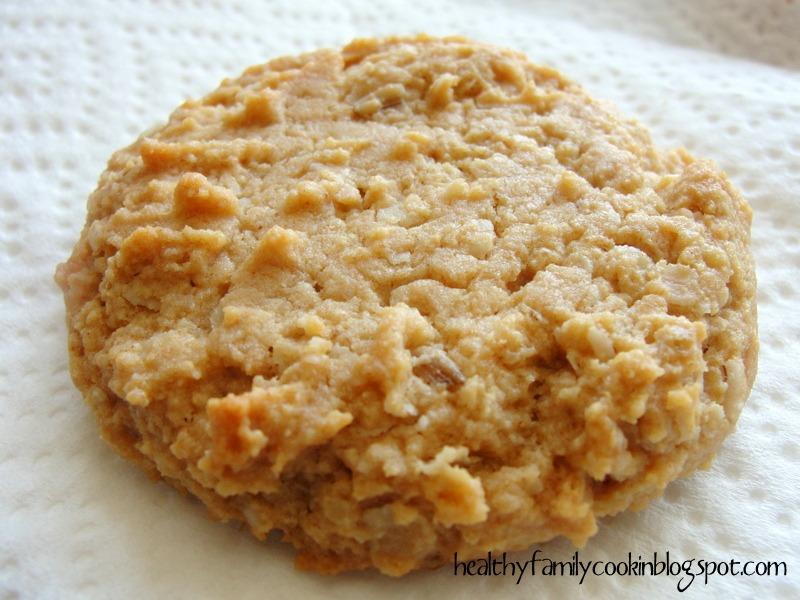 No Sugar Oatmeal Cookies