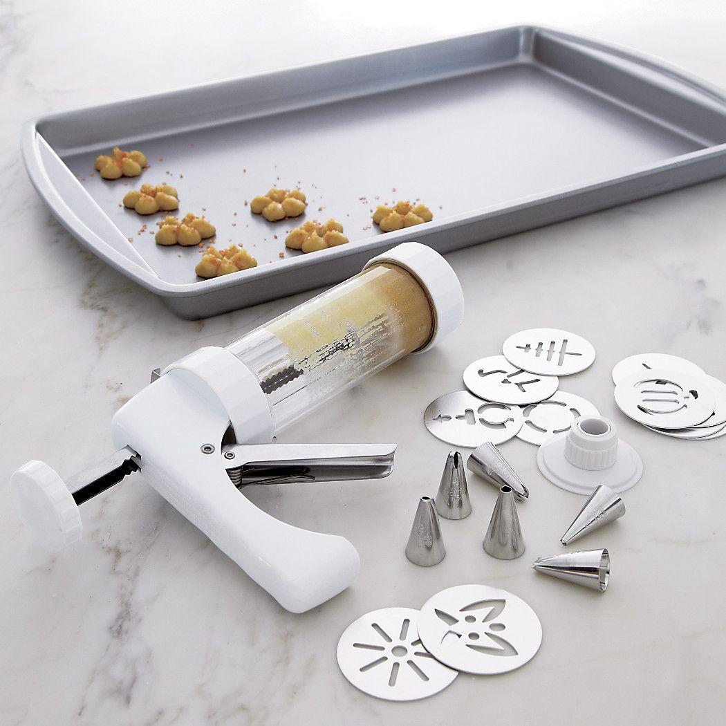 Shop Kuhn Rikon Cookie Press And Decorating Kit  Press And
