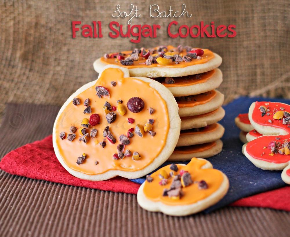 Fall Sugar Cookies
