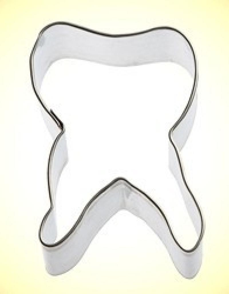 Foose Tooth Cookie Cutter (2 5 )