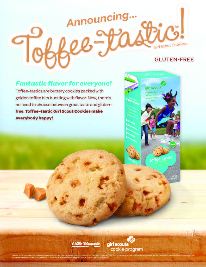 Girl Scouts Introduce Two New Cookies