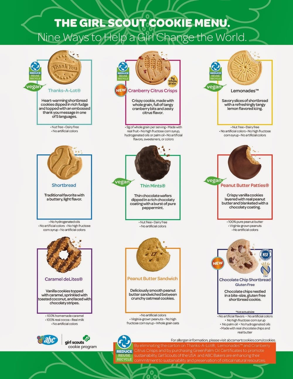 Giveaway  Two New Girl Scout Cookies!
