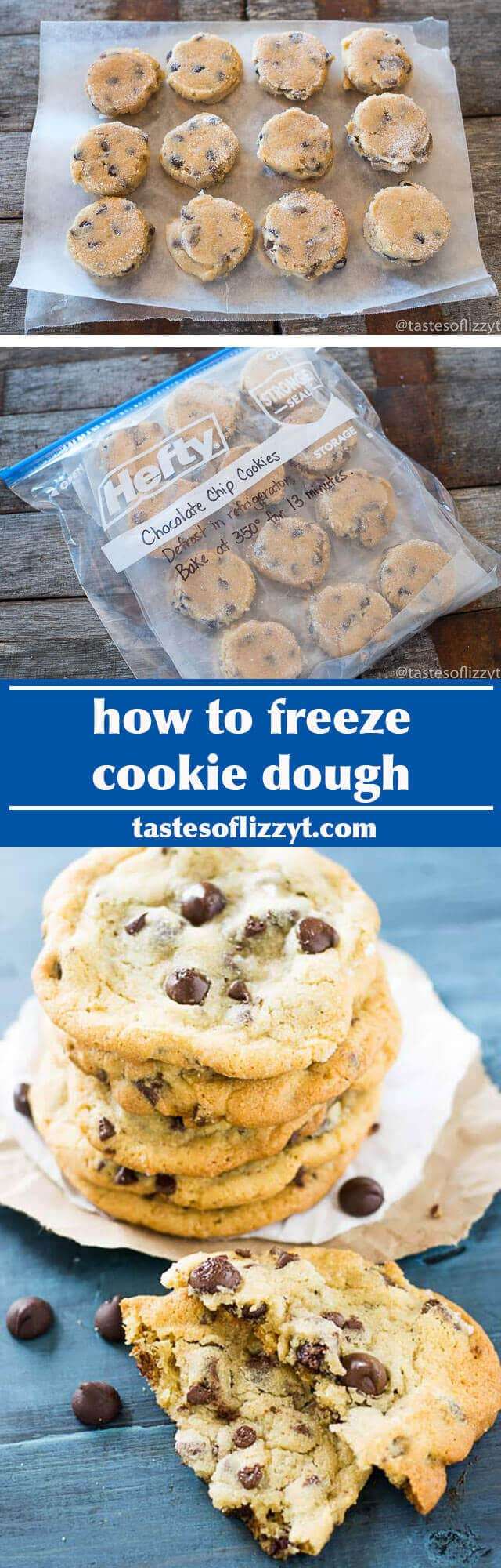 How To Freeze Cookie Dough {hints For Packing & Defrosting Cookies}