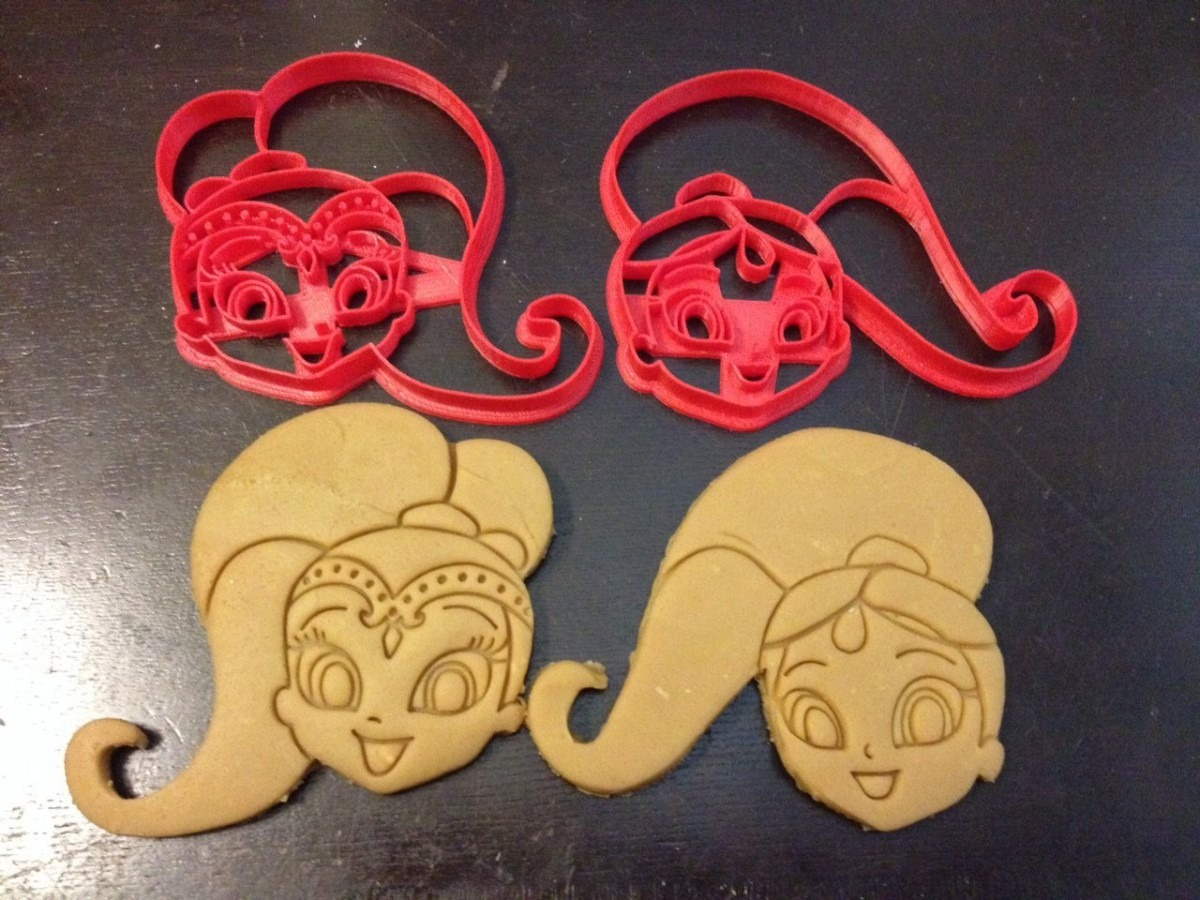 Shimmer And Shine Cookie Cutters  The Heads Of These Genies In