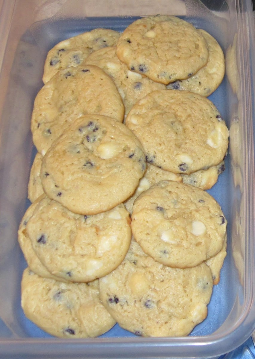 The Inspiration Cafe'  Blueberry Cheesecake Cookies