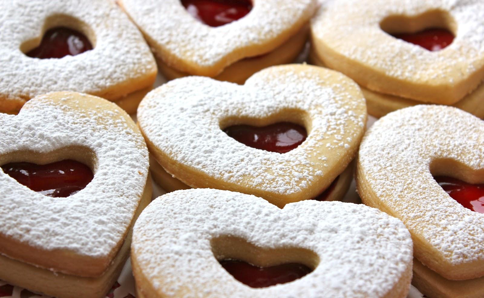 Chelsea's Choice  Raspberry Almond Linzer Cookies