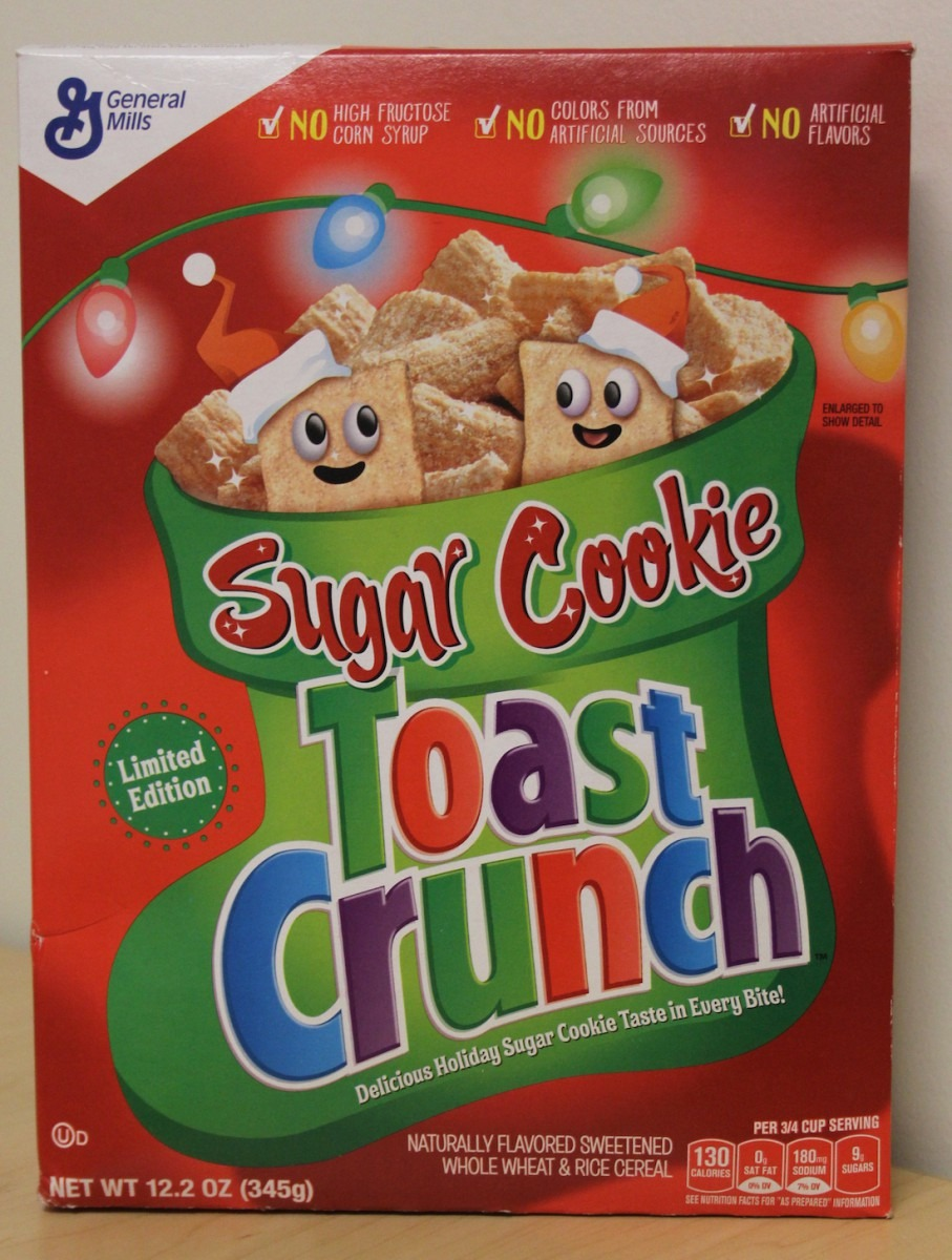 Review  Sugar Cookie Toast Crunch Cereal