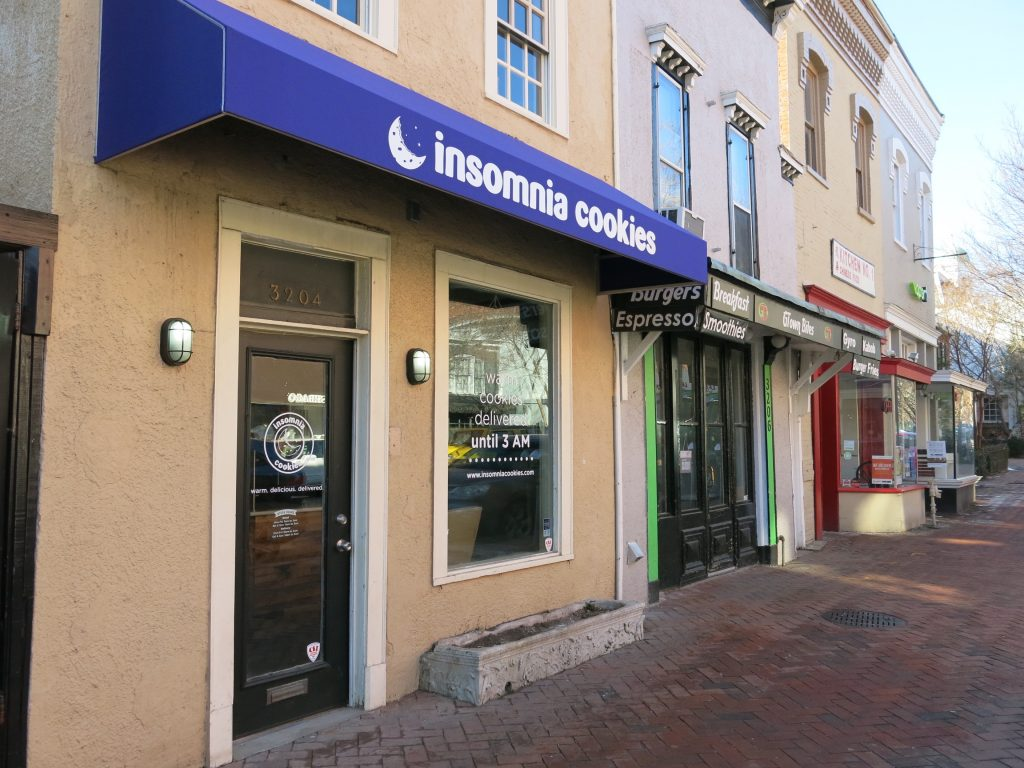 Popville » Insomnia Cookies Opens Georgetown Location – Get A Free