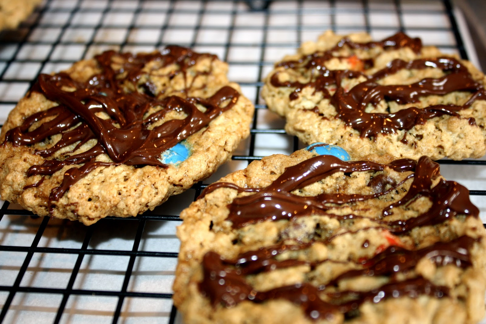 Way To A Man's Heartfood  Monster Cookies (adapted From Paula Deen)