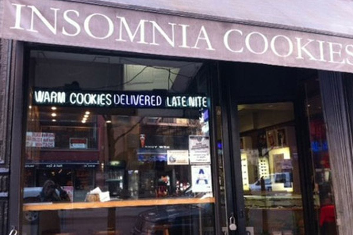 Insomnia Cookies Is Opening Two Boston Locations