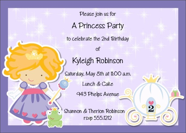 Kids Birthday Invitation Wording Epic Children's Birthday