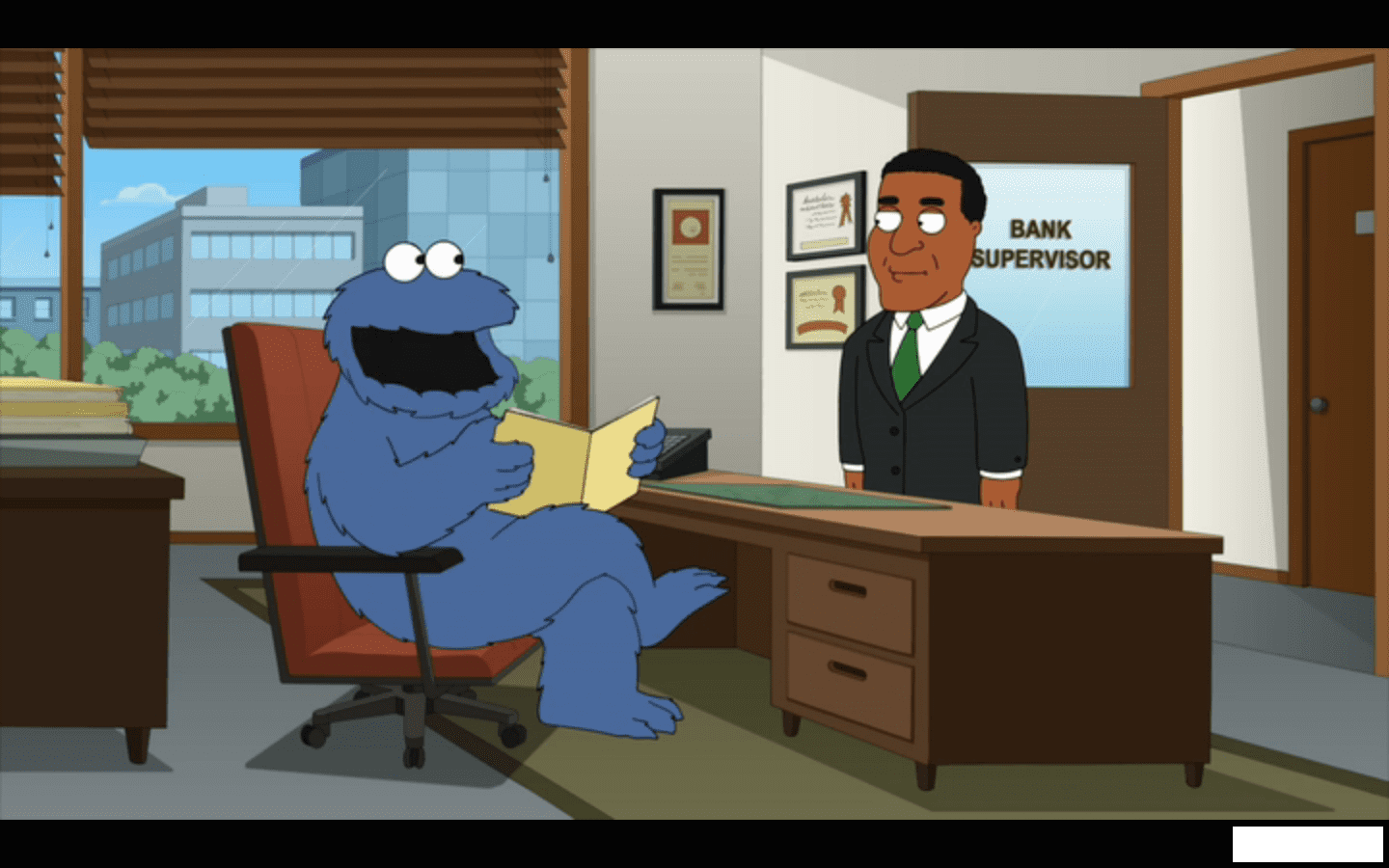 Looks Like The Cookie Monster Is On The Up And Up Since His Days
