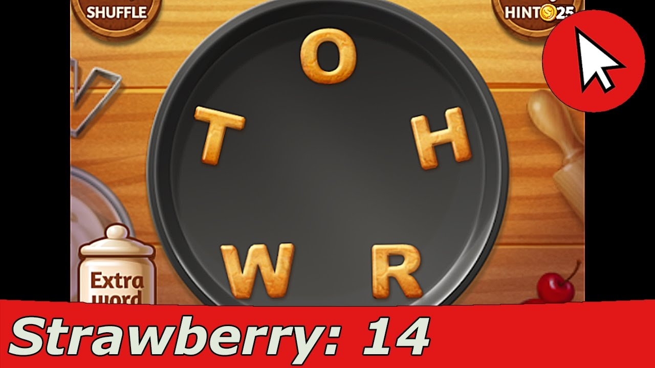 Word Cookies Strawberry 14 Answers Guide