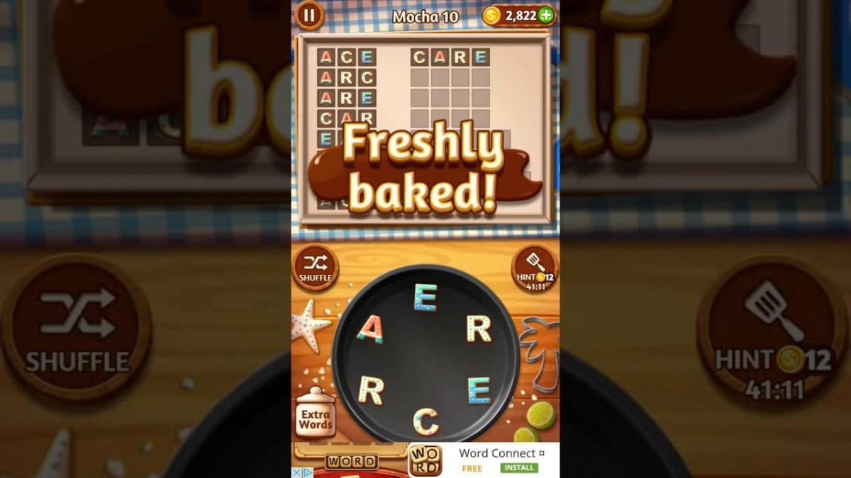 Word Cookies Mocha 10