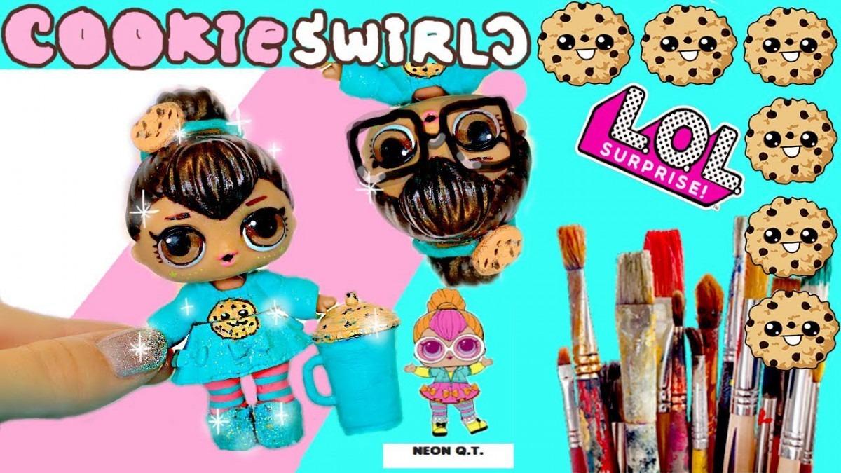 Cookieswirlc🍪 Custom Lol Surprise Doll! Easy Diy