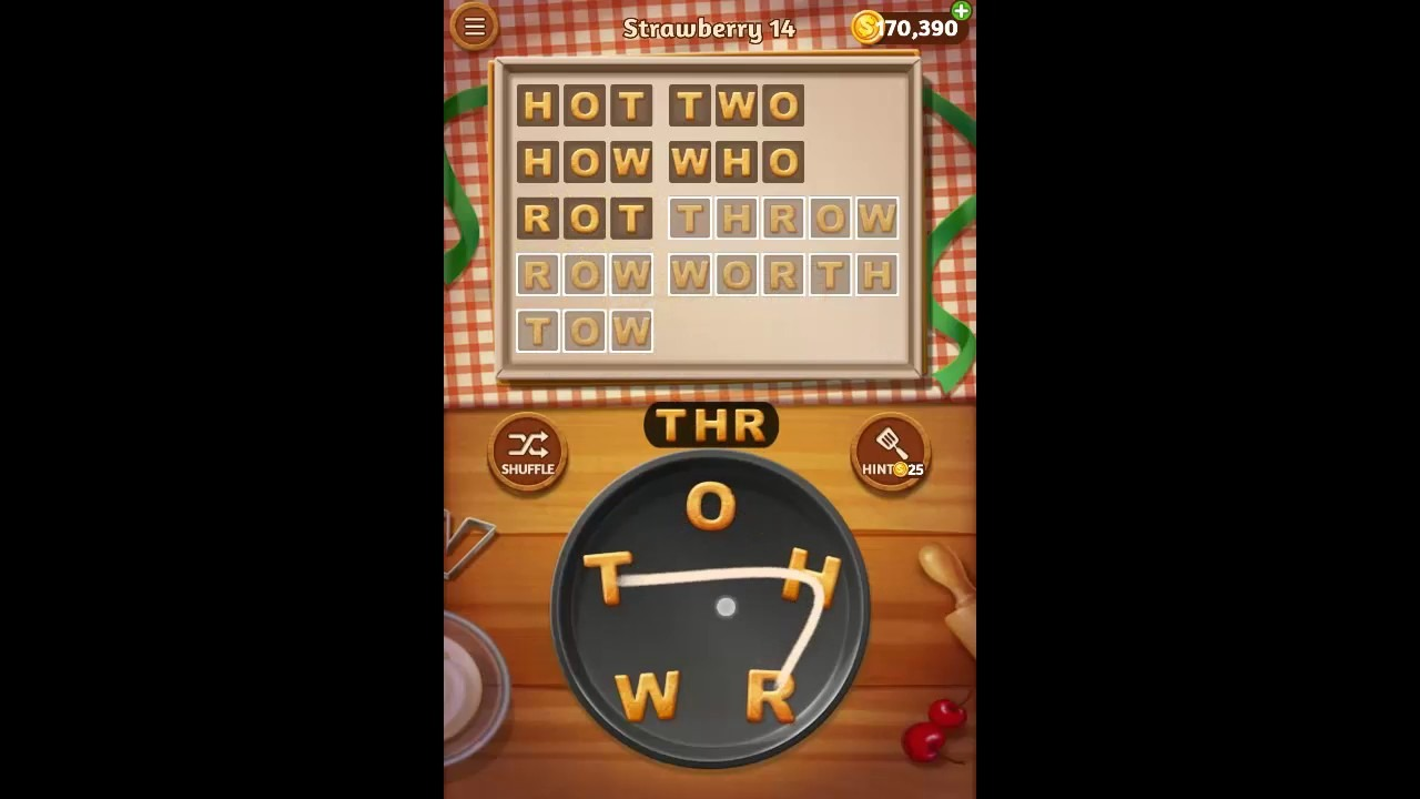 Word Cookies Strawberry Pack Level 14 Answers
