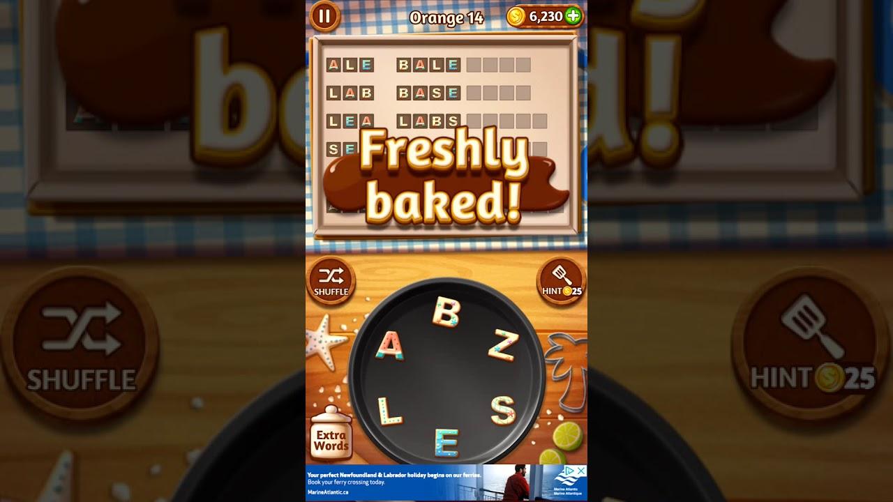 Word Cookies Orange 14