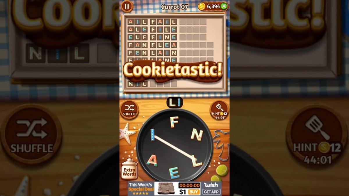 Word Cookies Carrot 7